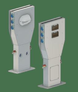 render image of Marinero Smart Pedestals
