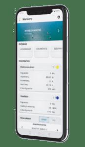 Marinero Smartphone App homescreen