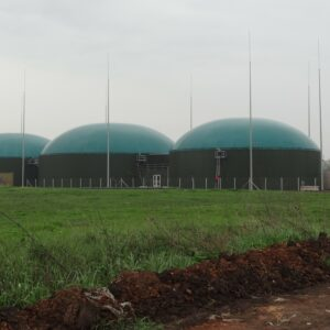 lightning protection planning at biogas power plant with high risk of explosion in tiszavasvari